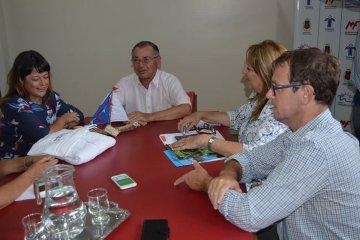 La Secretaria de Turismo y Cultura de la provincia visitó la ciudad termal