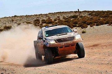 Naivirt debió parar en el Dakar por problemas mecánicos