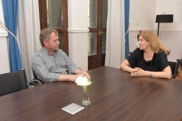 Galimberti se reunió con la ministra Romero para coordinar acciones ante la inseguridad