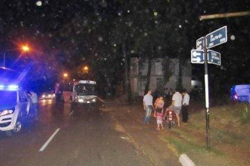 Chocaron contra un colectivo de línea urbana y debieron ser hospitalizados