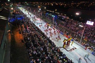 Concordia tuvo una de sus mejores primeras noches de carnaval