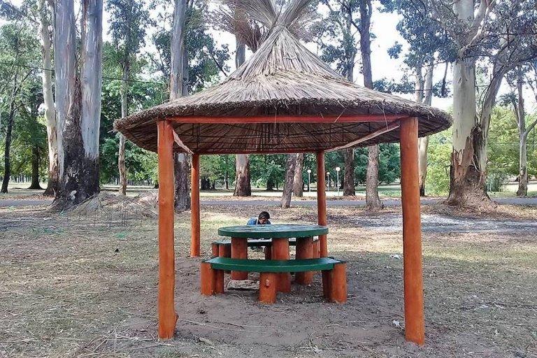 Nuevos quinchos en el Parque Liquidambar.