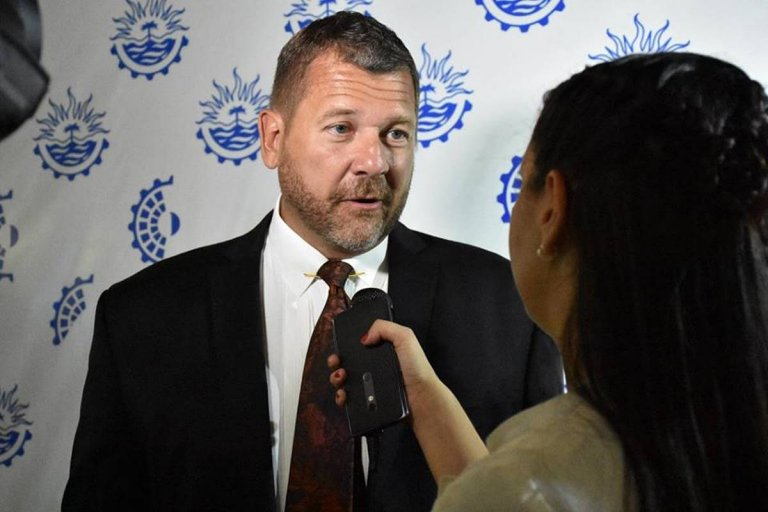 Viceintendente y presidente del Concejo Deliberante, Aramndo Gay