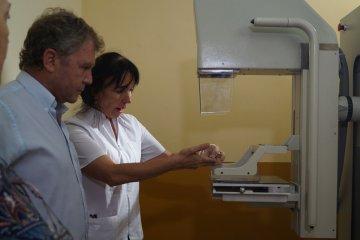 Comenzó a funcionar un mamógrafo en el hospital público chajariense