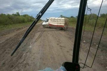 Denuncian el mal estado de una ruta del norte entrerriano