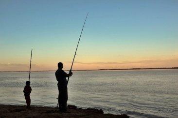 Los tres puntos más propicios para la pesca de costa en Concordia