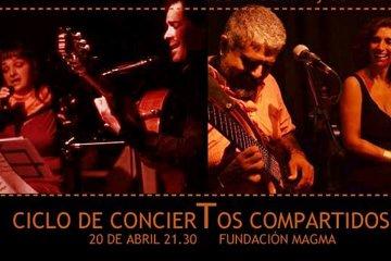 Este viernes comienzan los Conciertos Compartidos a Fundación Magma