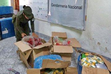 Gendarmería incautó mercadería ilegal por más de un millón de pesos