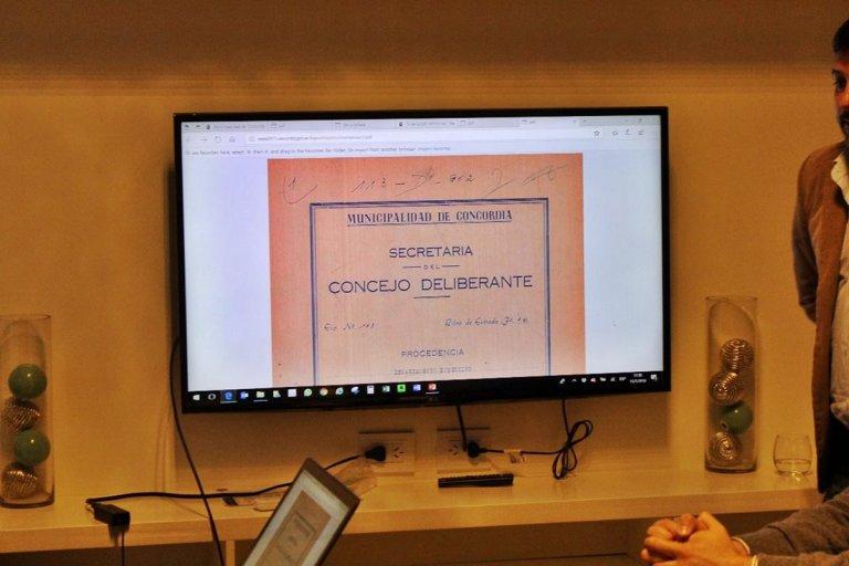 El Concejo Deliberante y las nuevas tecnologías.
