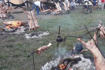 Chajarí vivió a pleno su 1° Concurso de Cordero asado a la Estaca