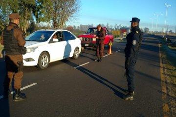 Dos vehículos fueron retenidos porque sus conductores no pasaron el control de alcoholemia