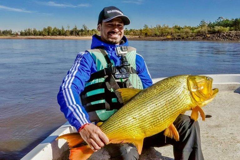 La pesca es uno de lo principales atractivos turísticos de la provincia