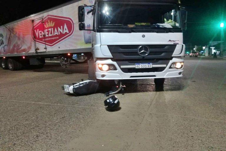 El accidente ocurrió en la noche de este jueves.