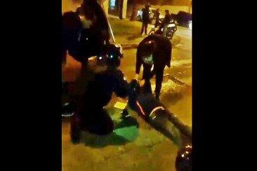INSÓLITO: Se accidentó en moto y fue atendido por una mujer exorcista