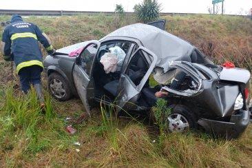 Un fatal accidente terminó con la vida de una mujer y una niña de 9 de años
