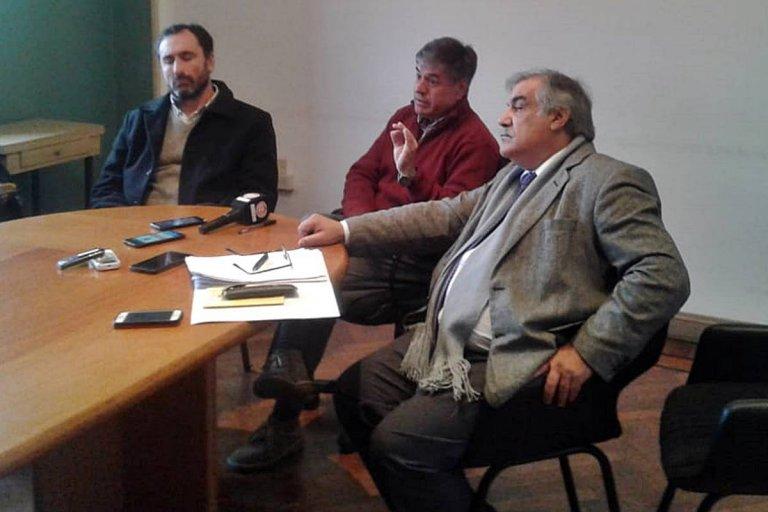 La conferencia de prensa se desarrolló este jueves en la sede de la Cooperativa
