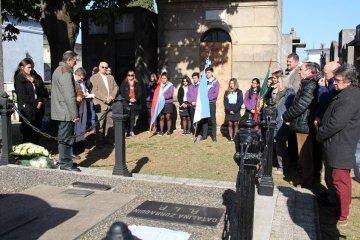 Armando Gay participó del homenaje al Dr. Esteban Zorraquín