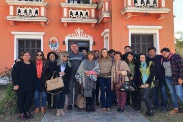 Mayda Cresto visitó Feliciano y recorrió diversas instituciones