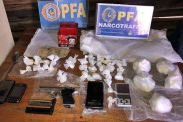 """La Policía Federal Concordia desbarató una banda narcó que era comandada por """"la Gringa"""""""