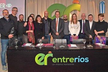 Bordet presentó lo que será el primer Festival Internacional de Cine de Entre Ríos