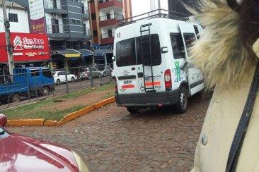 Separan al Director  de  Discapacidad por la  camioneta fotografiada en Paraguay