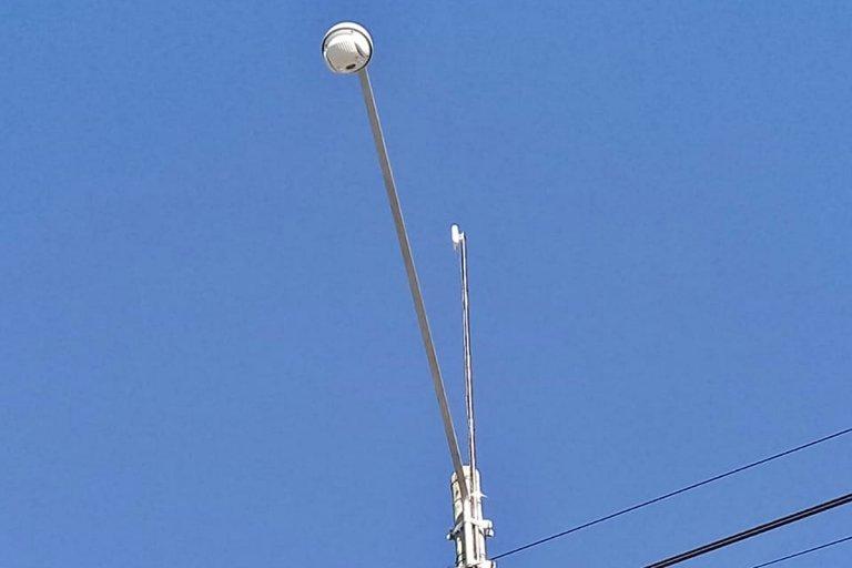 Piden un domo de vigilancia, para evitar los continuos robos de cables.