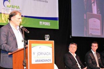 Durante esta semana se llevará a cabo en Concordia la 10° Jornada Técnica Regional en Arándanos