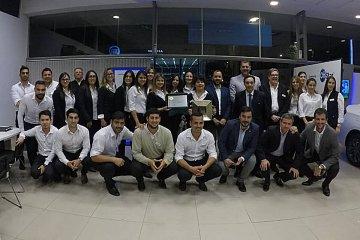 """General Motors distinguió a RUDAS con el premio """"Club del Presidente"""""""