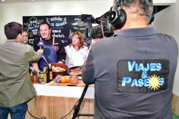 Concordia dijo presente en la televisión nacional y promocionó sus atractivos