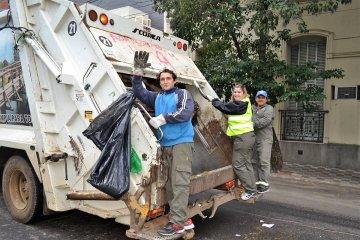 Adelantan cómo funcionará el servicio de recolección de residuos durante el feriado del lunes