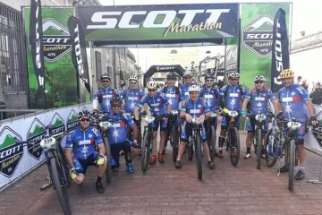 Concordienses compiten en la Scott Maratón de Uruguay