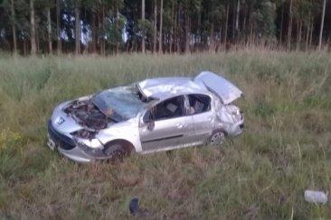 Fueron identificados los concordienses accidentados en la autovía 14