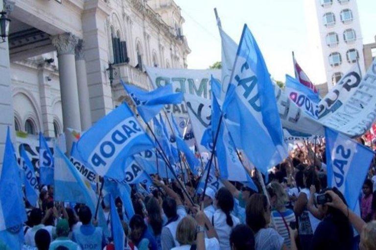 Sadop Entre Ríos exigió el pago del bono de fin de año
