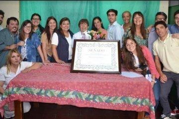 La Dirección Departamental de Escuelas brindó un homenaje  a la concordiense  Liliana Testabruna