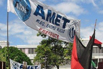 AMET aceptó la oferta salarial del gobierno pero la declaró