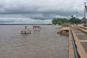 Se estima que el río Uruguay podría crecer por encima de los 11 metros