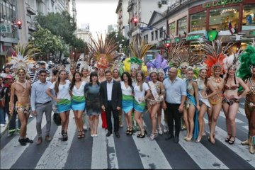 Entre Ríos presentó en Buenos Aires sus productos y propuestas para este verano