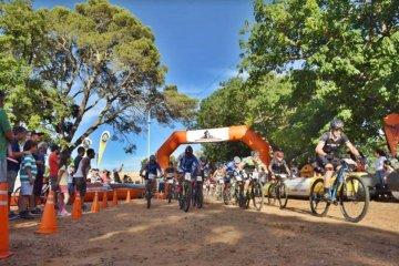 Por la creciente del río Uruguay debieron cambiar la sede del torneo de Mountain Bike