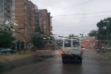 Alerta por tormentas vigente: se podría alcanzar hasta los 100 mm. de lluvia