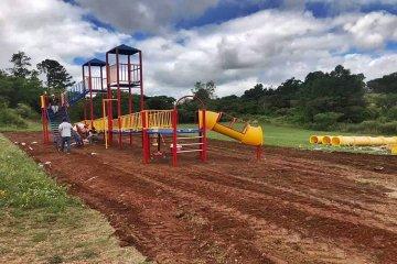 Instalarán un mangrullo de juegos en el Parque San Carlos