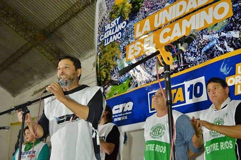 La CTA Entre Ríos también se suma a la protesta.