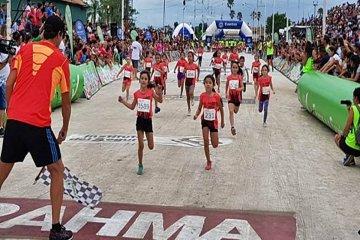 Con más de 2000 chicos se corre la Mini Reyes