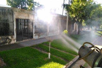 El municipio detalló los barrios donde se continúa fumigando