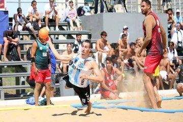 Se juega en Chajarí una fecha del Circuito Entrerriano de Beach Handball