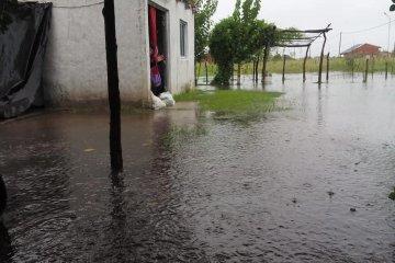 Asisten a las localidades del norte entrerriano afectadas por las intensas lluvias