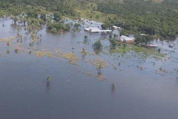 En Corrientes también están preocupados por la situación de crecientes y lluvias
