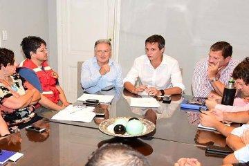 El ministro Benedetto viajó a Concordia por la creciente del río Uruguay