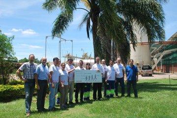 Los colaboradores de EGGER Concordia siguen sumando Kilómetros solidarios