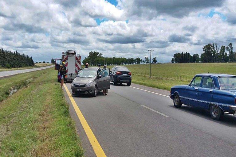 El accidente ocurrió en la mañana de este viernes.