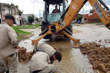 EDOS cambió la electrobomba que se había quemado y abastece de agua a dos importantes barrios